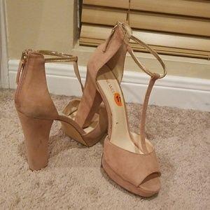 Beautiful T- strap heels